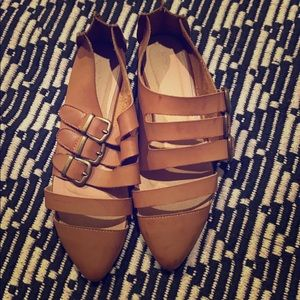 Shoes - Buckle flats